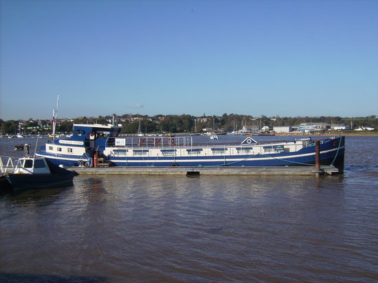 Rijnstroom IV on her berth at Bembridge Harbour