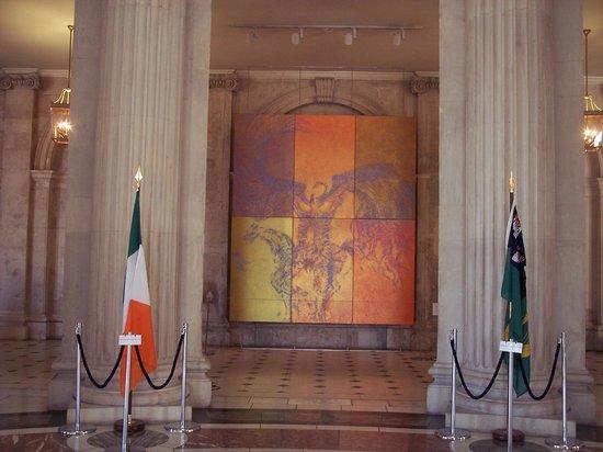 Mural, Dublin City Hall