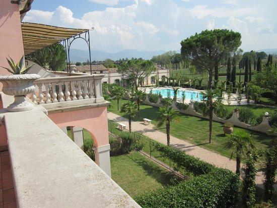 Villa Zuccari : View from balcony