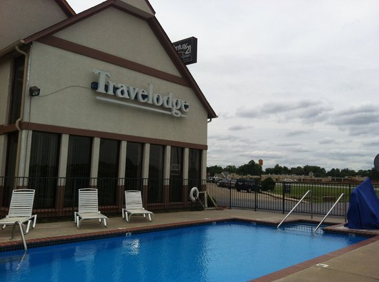 Norman Travelodge: Pool