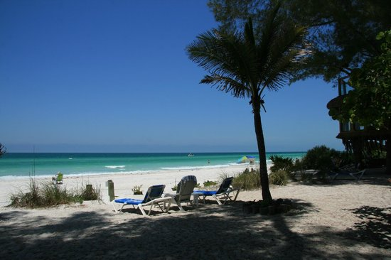 Angelinos Sea Lodge: Der Strand