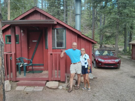 Grey Hackle Lodge: At the cabin!