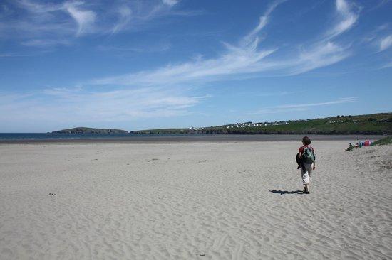 Poppit Sands Beach: Poppit Sands June 2013 walk to Moylegrove from St Dogmaels