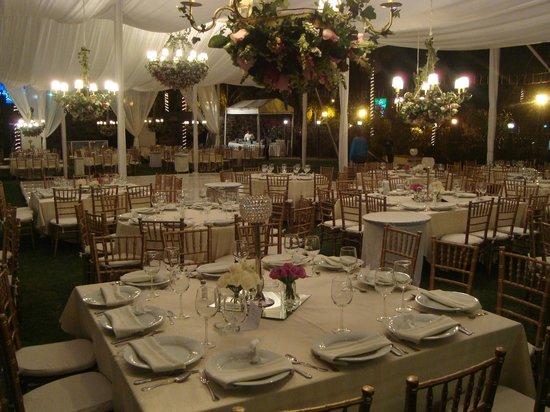 Montaje de boda en jardin picture of hotel hacienda la for Jardin 43 rio gallegos