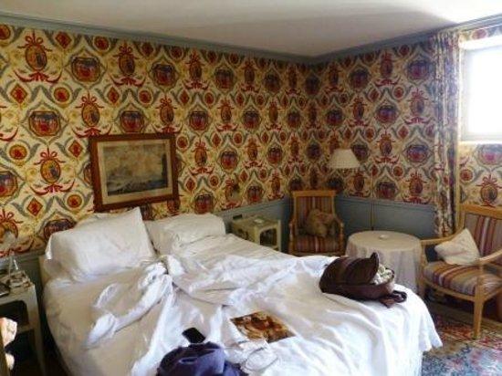 La Mirande Hotel: Bold decorations