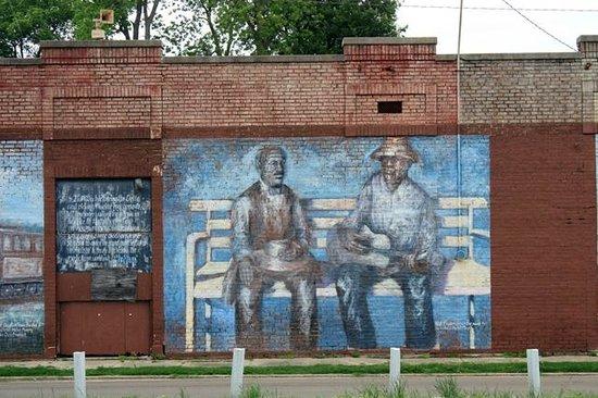 Tutwiler Train Depot Site: Tutwiler Depot Mural