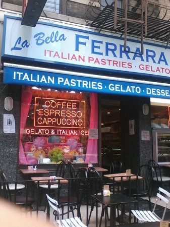 Photo of Italian Restaurant La Bella Ferrera at 108 Mulberry St, New York, NY 10013, United States