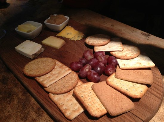 The Bell Inn: Their 'artisan' cheese board in reality