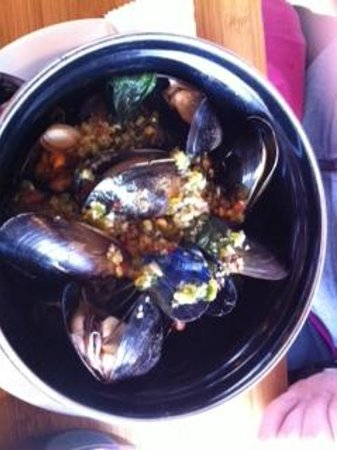Port of Siam at Newhaven : Mussels
