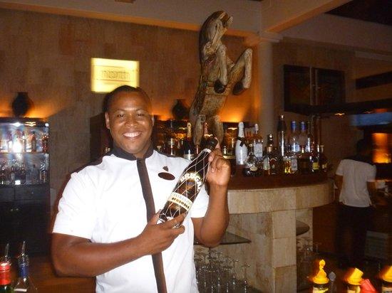 Paradisus Punta Cana: george barman imaginativo