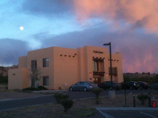 Homewood Suites Santa Fe: last casita behind hotel