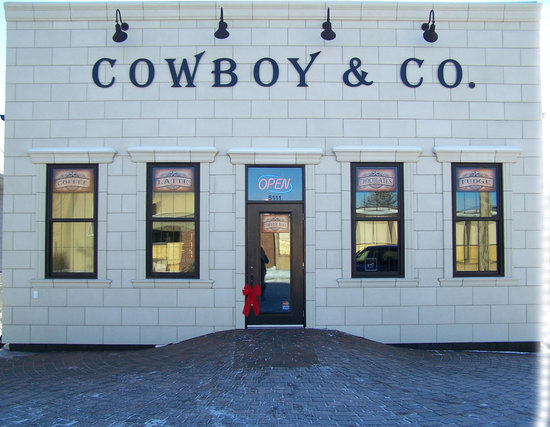 Cowboy & Co. Coffee Cafe: Storefront