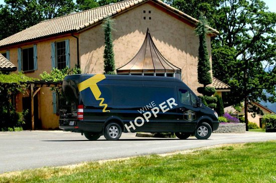 Merlin, OR: The Wine Hopper Mobile
