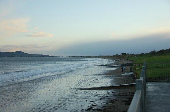Portmarnock Beach: On a stormy day