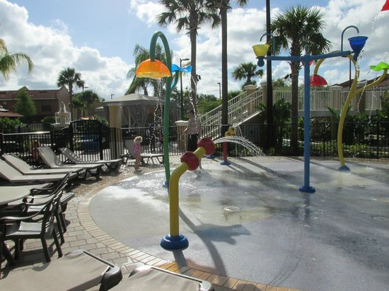 Fantasy World Club Villas: Splash pad.