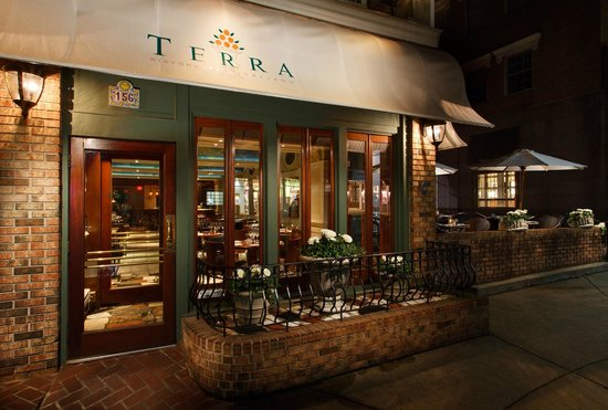 Terra Restaurant Greenwich Menu