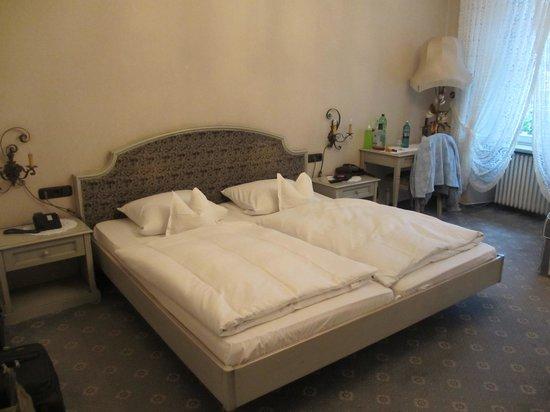 Hotel Restaurant Drei Hasen : our room