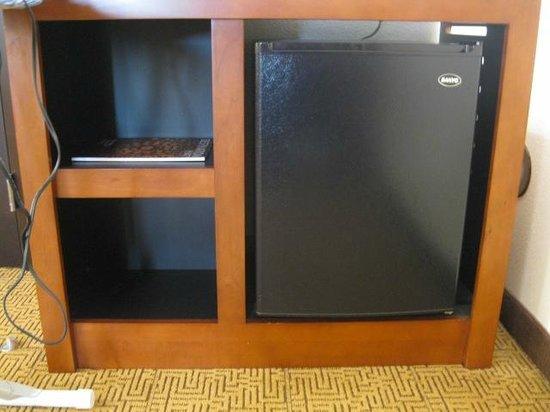 Hyatt Place Raleigh West: a good spot for a microwave (hint hint)