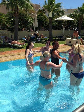 Santa Marina Beach Hotel: Fun ...