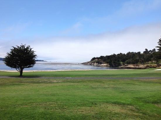 The Lodge at Pebble Beach: view from our room