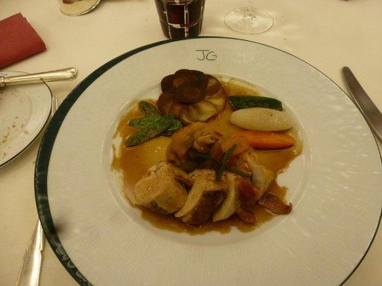 Hotel Restaurant de l'Embarcadere: Notre plat