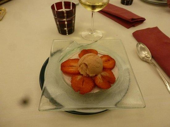 Hotel Restaurant de l'Embarcadere : Notre dessert