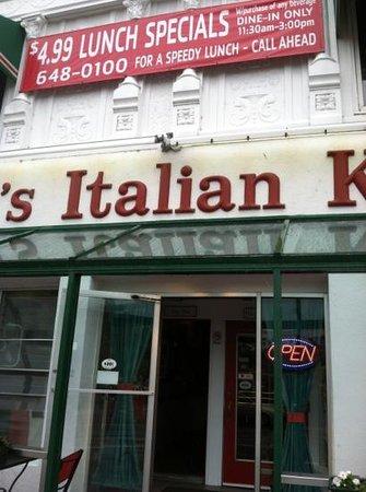 Tina's Italian Kitchen: Add a caption
