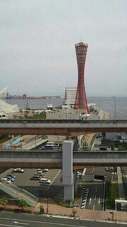 Kobe Port Tower Hotel : 部屋からの景色