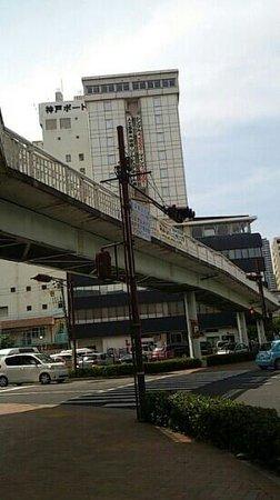 Kobe Port Tower Hotel : ホテル近所