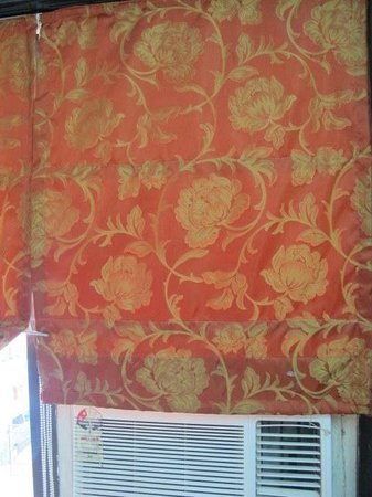 Hotel JK Regency: Room curtain