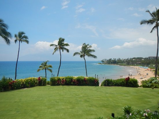 Four Seasons Resort Maui at Wailea: Ocean view from lawn