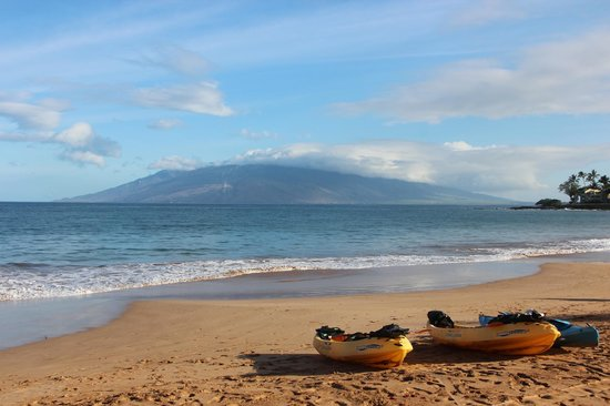 Four Seasons Resort Maui at Wailea: beach with west Maui view