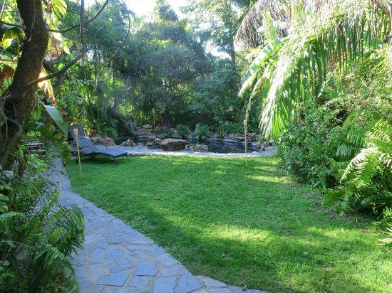 Kaia Tani Guesthouse: il girdino con piscina