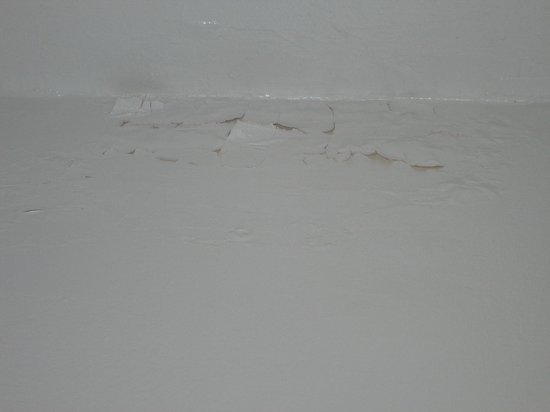 Sherbrooke Hotel: Teto caindo