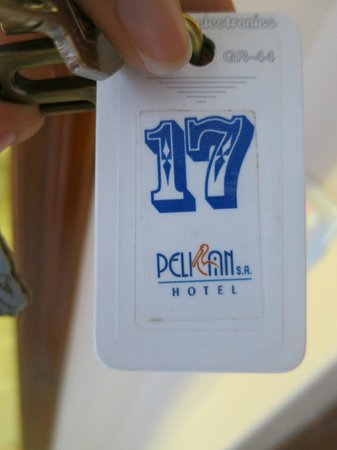 Pelican Hotel: room key