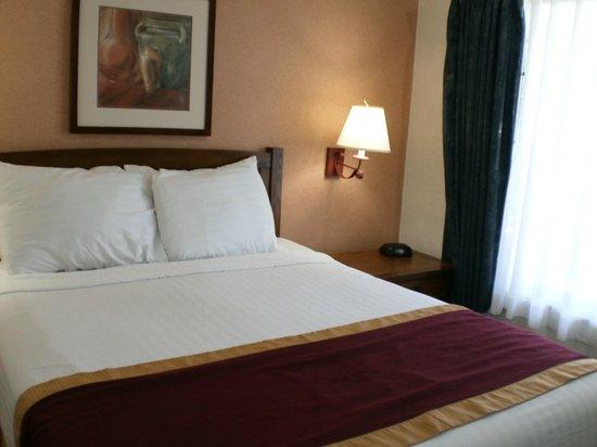 """Park Vue Inn: The """"queen"""" bed"""