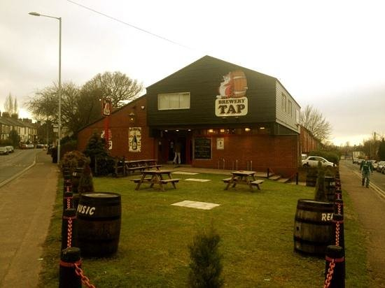 The Fat Cat Brewery Tap: Ugly but brilliant.