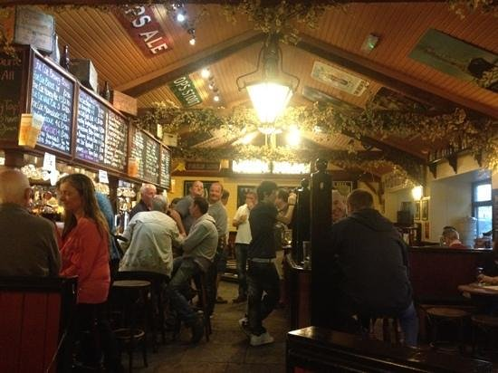 The Fat Cat Brewery Tap: A nice place to enjoy a pint.
