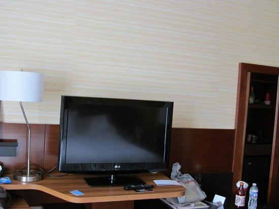 Fairfield Inn & Suites Towanda Wysox: TV