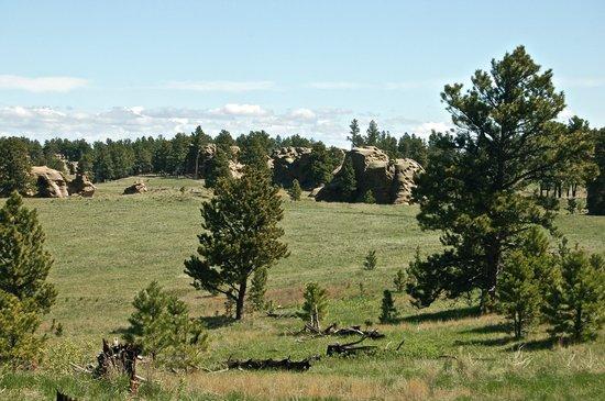 Ekalaka, MT: Medicine Rocks State Park