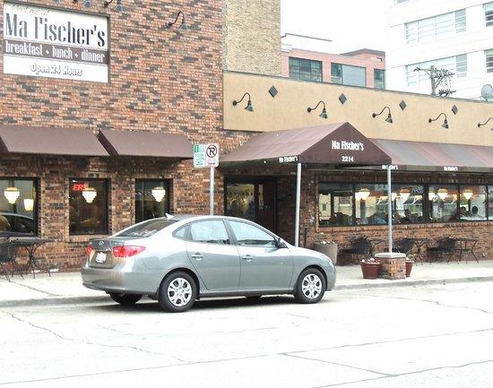 Ma Fischer's Restaurant: Store Front