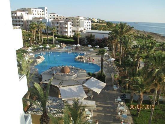 St. George Gardens Hotel Suites: vista desde la habitacion