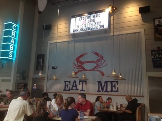 Joes crab shack: Good Advice at Joe's