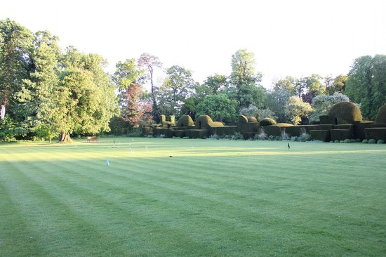 The Manor: the croquet lawn
