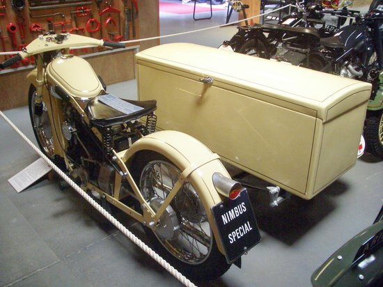 Jysk Automobilmuseum (Jutland Car Museum): Rare danish made motorcycle combo