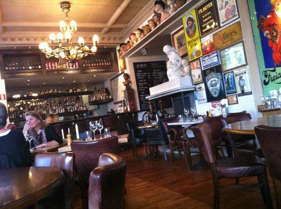 Cafe Christiania Restaurant Oslo