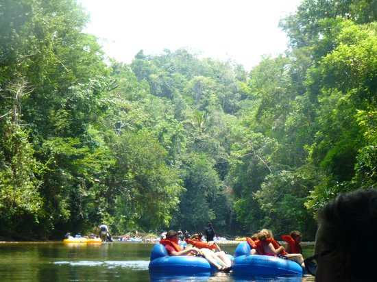 Cave Tubing R Us: Caving down the river