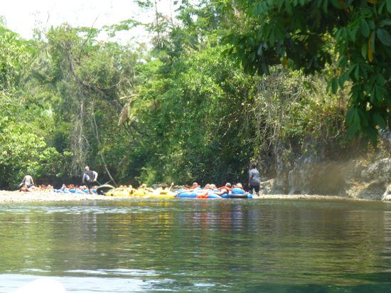 Cave Tubing R Us: Down the river