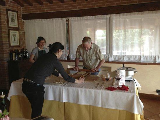 Locanda Poggioleone: our cooking class