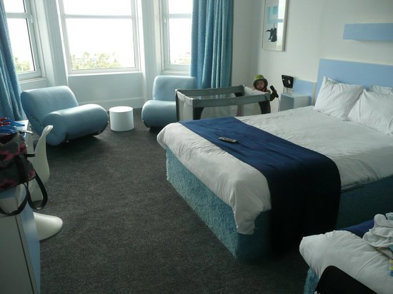 The Big Sleep Hotel Eastbourne by Compass Hospitality: the family room